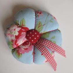 Lovely Flowery Pincushion